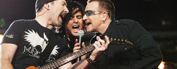 Bono The Edge & Billie Jo