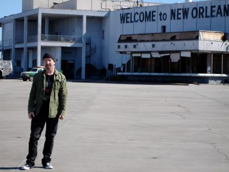 U2's The Edge visited several different areas of New Orleans in the aftermath of Hurricane Katrina